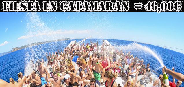 Fiesta en Catamarán Barcelona. Despedidas de soltero y soltera Barcelona