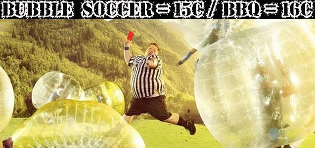 Bubble Soccer / Futbol Burbuja Sitges. Despedidas de soltero y soltera Barcelona