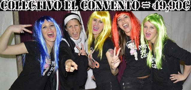 Despedidas y fiestas Salou. Cena, animaciones, cómicas, striptease - colectivo El convento