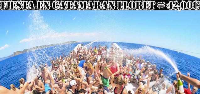 Fiesta Catamarán Party Lloret de Mar - Despedidas de soltero y soltera