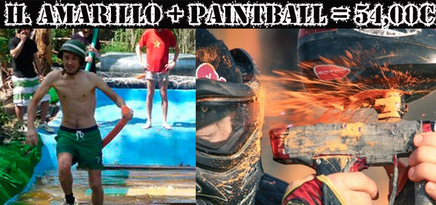 Paintbal y Humor Amarillo