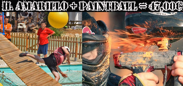Humor Amarillo + Paintball Sitges