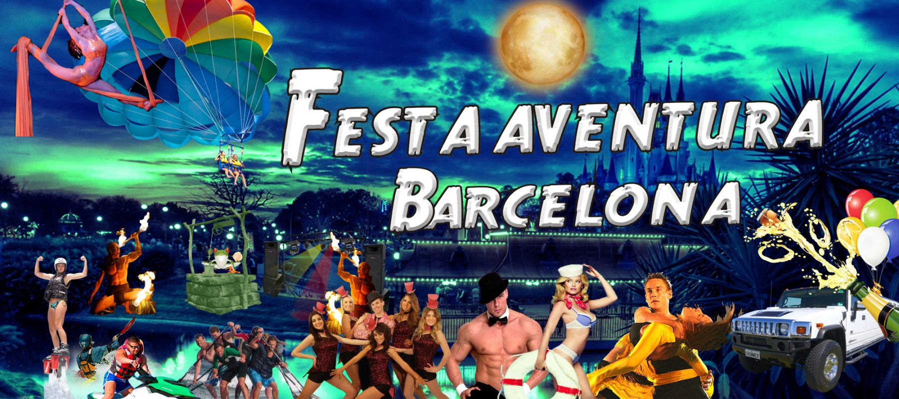 Festa Aventura Barcelona