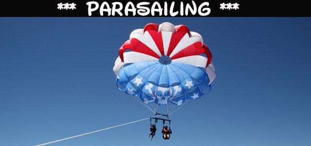 Parasailing Sitges Despedidas de soltero