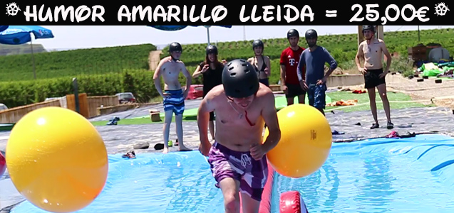 Humor Amarillo Lleida. . Despedidas de soltero y soltera en Lleida