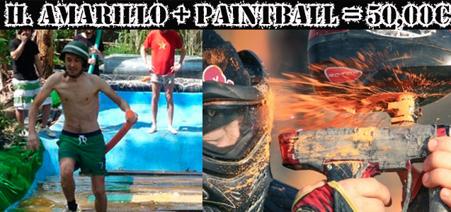Paintbal y Humor Amarillo Hostalric