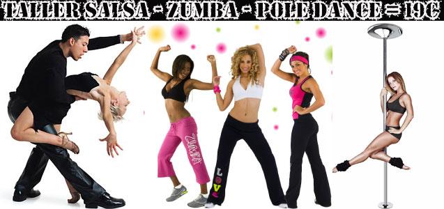 Talleres de Salsa - Pole Dance - Zumba