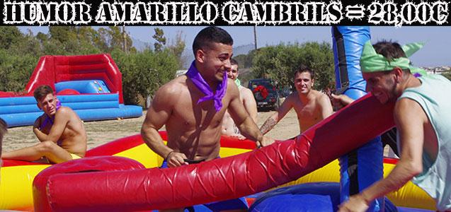 Humor Amarillo Cambrils a 10 min de Salou. Despedidas y fiestas Salou.