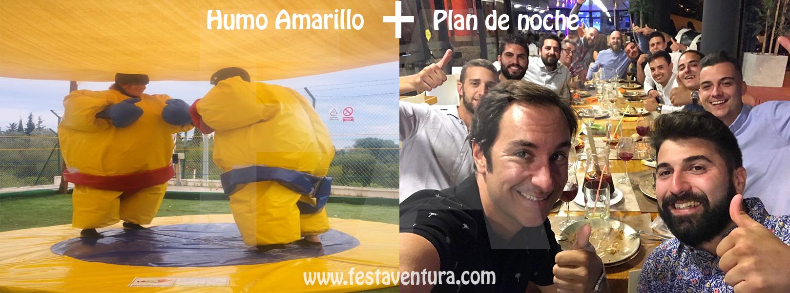 Humor Amarillo y plan de noche en Sitges