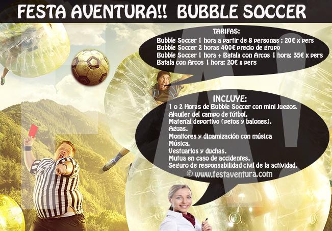 Bubble Soccer - Futbol Burbuja Catalunya