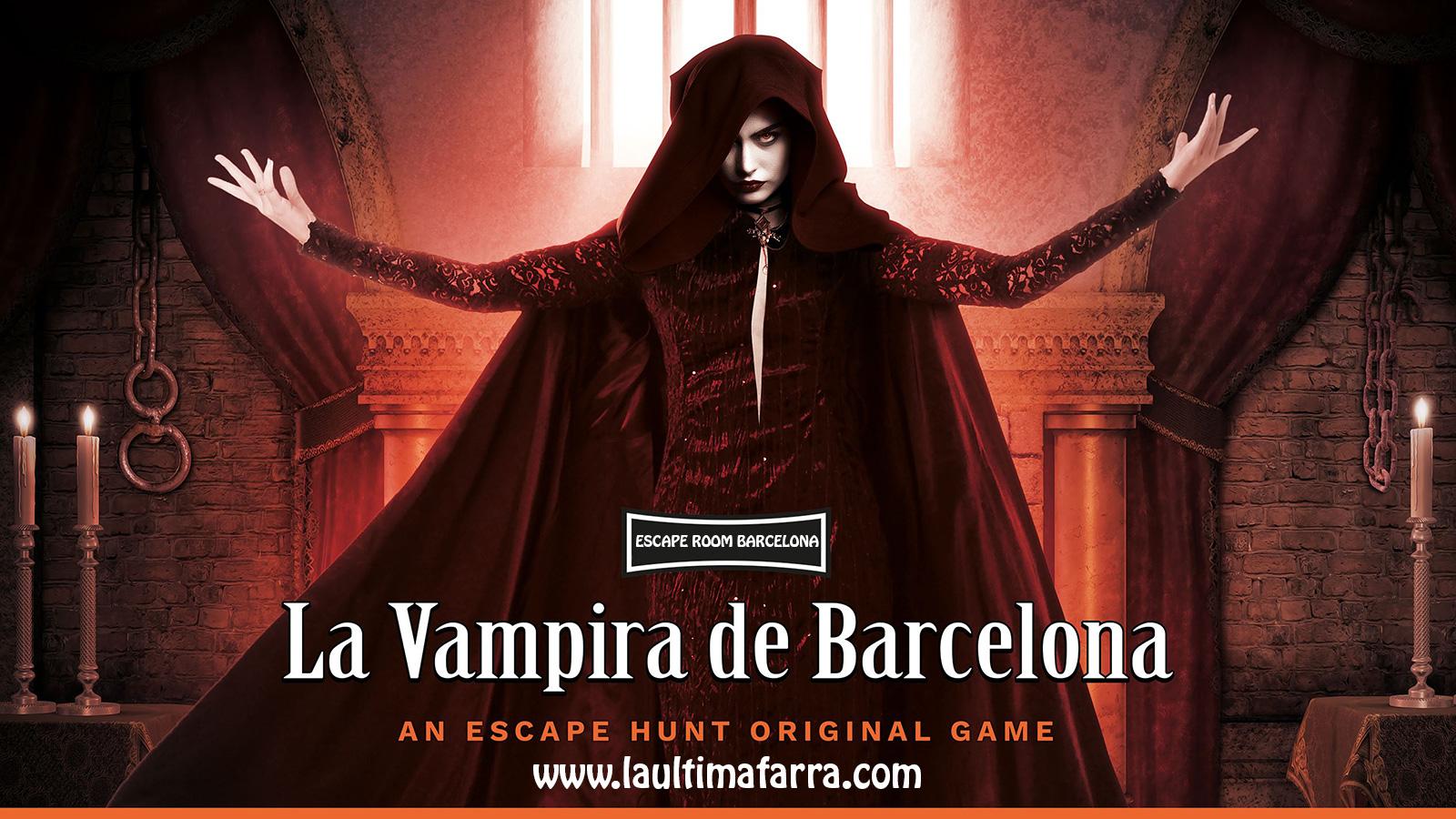 Escape Room Barcelona - La Vampira de Barcelona