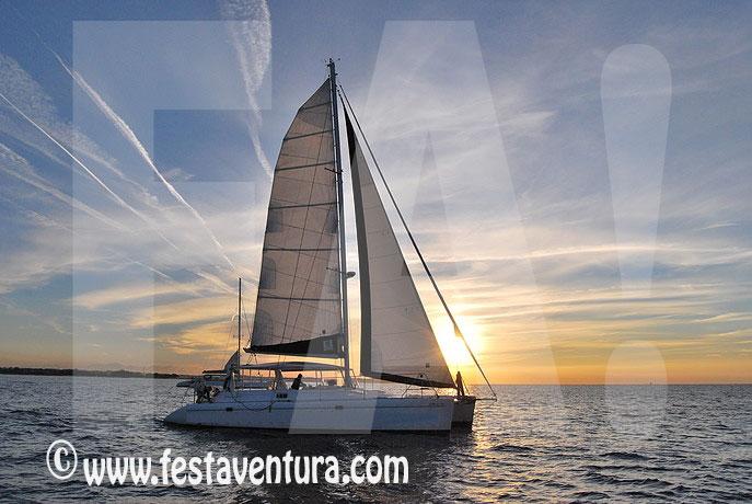 Alquiler Catamarán fiesta privada