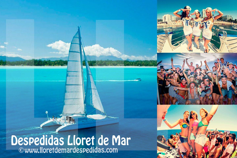 Despedidas y fiestas en Barco Catamaran en Lloret de Mar