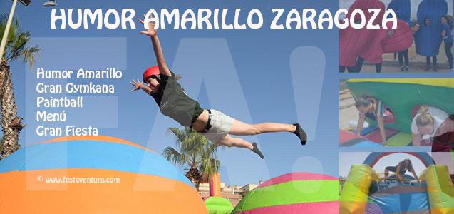 Humor Amarillo en Zaragoza para despedidas de soltera y soltero