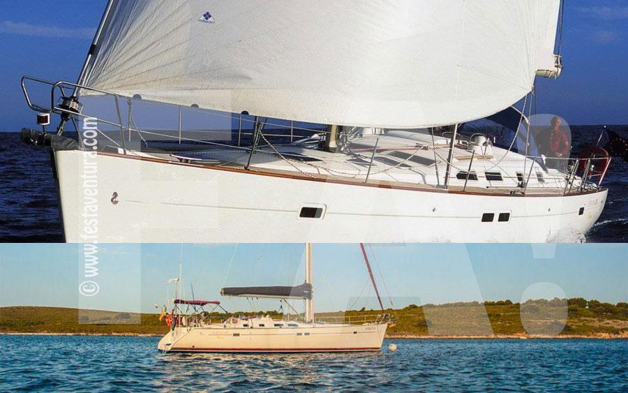 Alquiler barco velero Barcelona