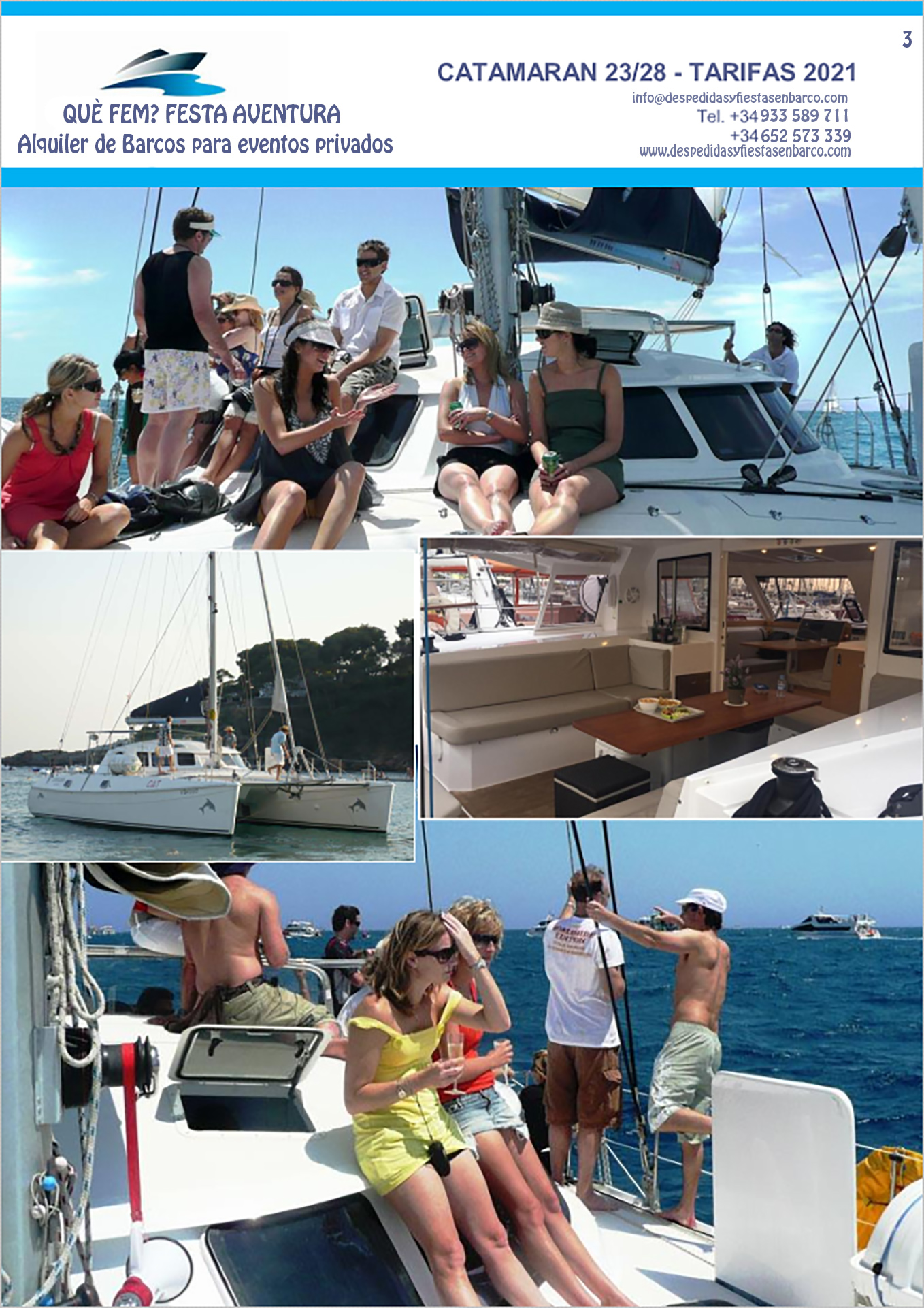 Alquiler de Catamarán en Barcelona