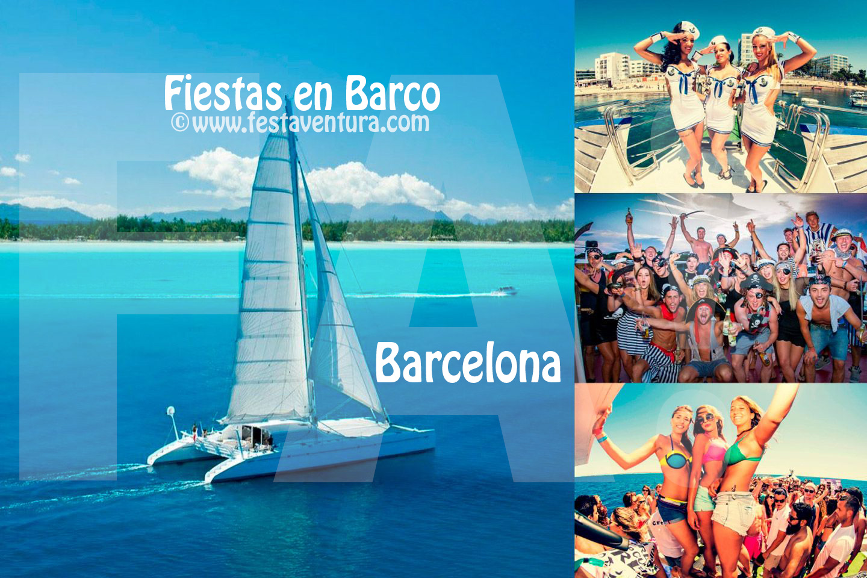 Fiestas en Barco Catamaran Barcelona