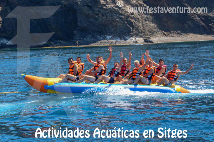 Actividades Acuáticas en Sitges