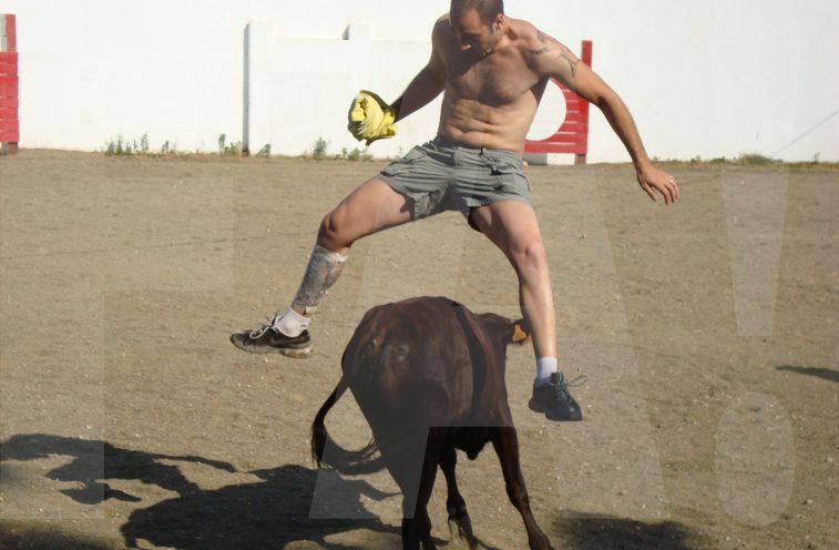 Capear Vaquillas para despedias