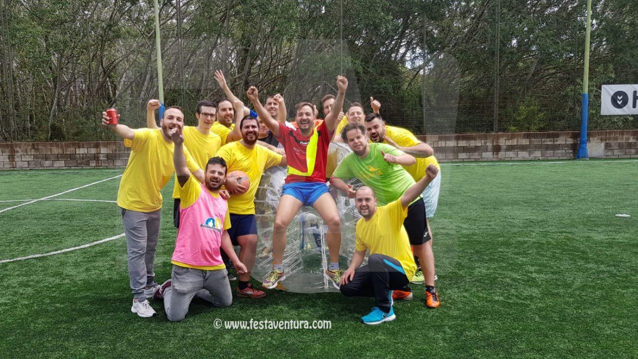 Bubble Soccer Sitges